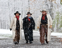 Cowboys in the Snow